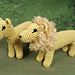 Lion and Lioness pattern
