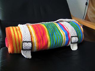 blanket straps, finished