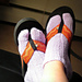 Flipflop (or Ninja!) Socks pattern