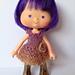 Mini Lacey dress for Strawberry Shortcake pattern
