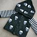 Baby Goth Knits Hooded Skull Jacket pattern