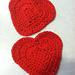 Heart Coaster pattern