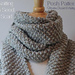 Seed Stitch Scarf pattern