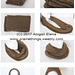 Knit-Look Infinity Scarf pattern