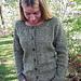 # 278 Neck Down Scoop Neck Cardigan pattern