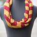 Gryffindor striped infinity scarf pattern