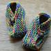 One Seam Baby Slippers pattern