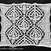 6. Double waterlily 2: motif for shawl pattern