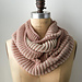 Two-Color Cotton Cowl pattern