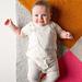 Four Points Baby Blanket in Super Soft Merino pattern