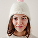 Speckled Pom Pom Hat pattern