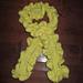 Keyhole Ruffle Scarf pattern
