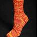 Shark's Teeth Socks pattern
