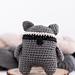 Raccoon pattern