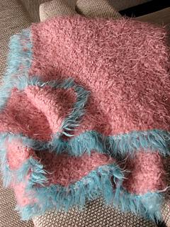 knit cafe baby blanket