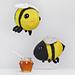 Buz and Belinda Knit Bumblebees pattern