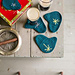 Boomerang Coasters pattern