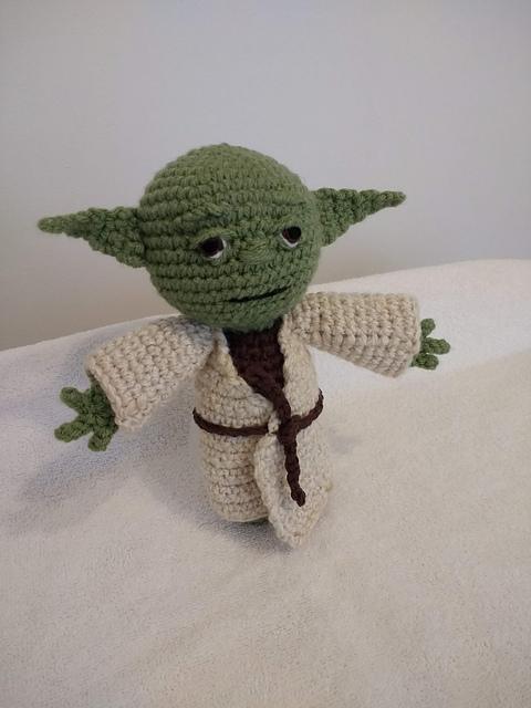 Galamigurumis El Maestro Yoda Renace. Patrón revisado - Galamigurumis | 640x480