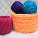 Chunky Yarn Basket pattern