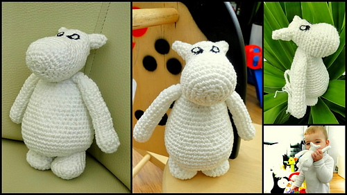 Moomin amigurumi toy - Gathered | 281x500