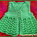 Scallop Vest For Girls pattern