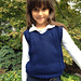 6-Stitch Plait Unisex Vest For Kids pattern