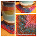 Noro Mitered Coaster pattern