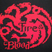 House Targaryen Banner (Game of Thrones) pattern