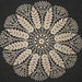 Ripe Wheat Doily #S-393 pattern