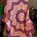 Sunburst Baby Blanket pattern