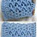Short scarf 1 – Zigzag stitches pattern