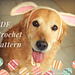 Easter Bunny Ears for Pets pattern