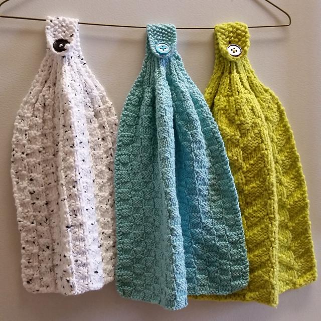 Ravelry Hanging Kitchen Towels Pattern