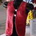 Mitered Square Vest pattern