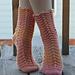 Chaussettes de Dentelle (Lacy Socks) pattern