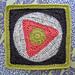 "Triangle Tango 12"" Square pattern"