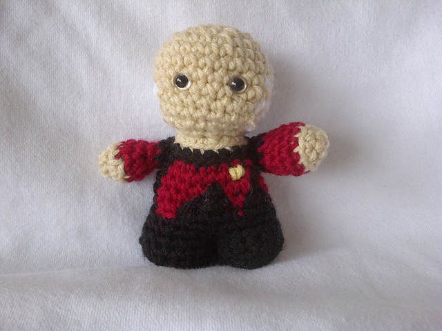 Crocheted Spock by CreativeNewbies member Yodaman921. This is a ... | 480x640