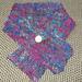 sari silk scarflette pattern