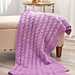 Exquisite Cabled Throw pattern