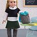Dolls Day at School pattern