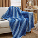 Corner-to-Corner Ombre Throw pattern