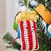Bag of Popcorn Ornament pattern