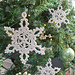 Lacy Snowflake Ornaments pattern