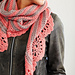 Chic And Strong Crescent Shawl pattern