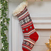 Festive Fair Isle Stocking pattern