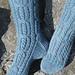 Precambrian Cable Socks pattern