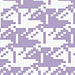 Escher Birds (variant 3) pattern