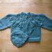 Leafy Baby Sweater pattern