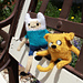 Adventure Time Finn and Jake Dolls pattern