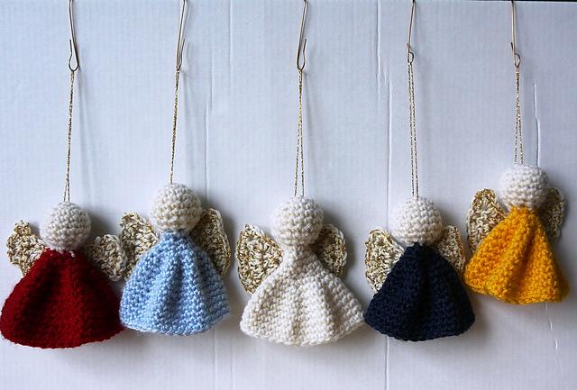 30+ Free Crochet Angel Patterns | AllFreeCrochet.com | 433x640